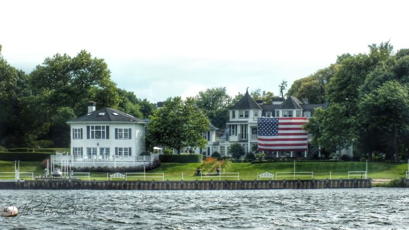 Rumson, from Sea Bright...