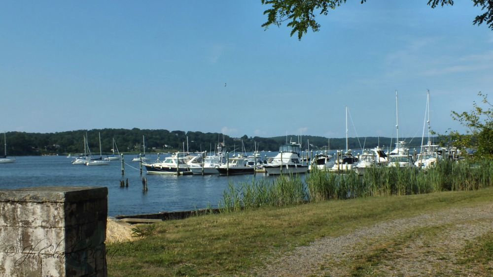 A view of the Navesink River...