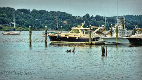 Navesink River from Fair Haven dock...