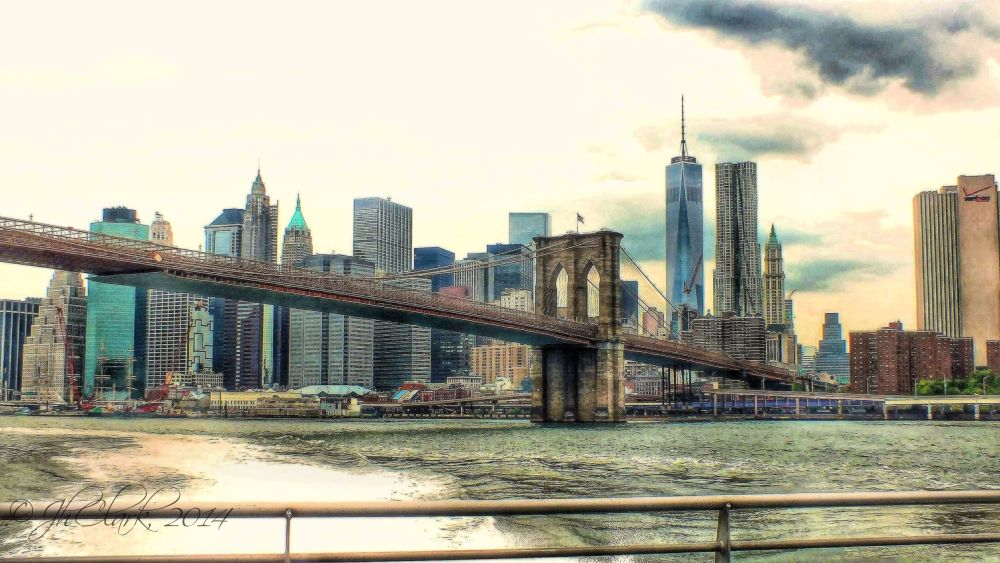 NYC Skyline from the East River...