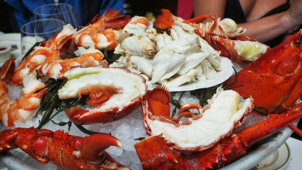 Smith & Wolenski's Seafood Appetizer...