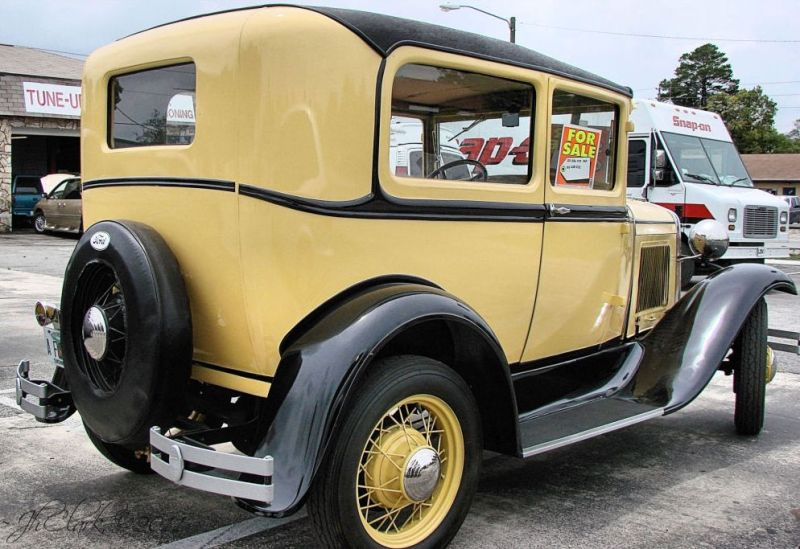Antique automobile...