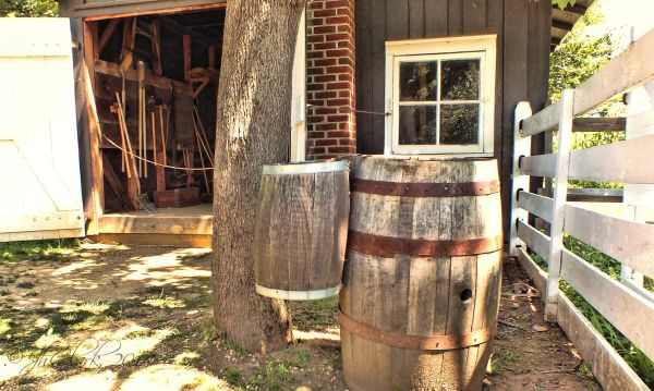 Pump house at Longstreet farm...