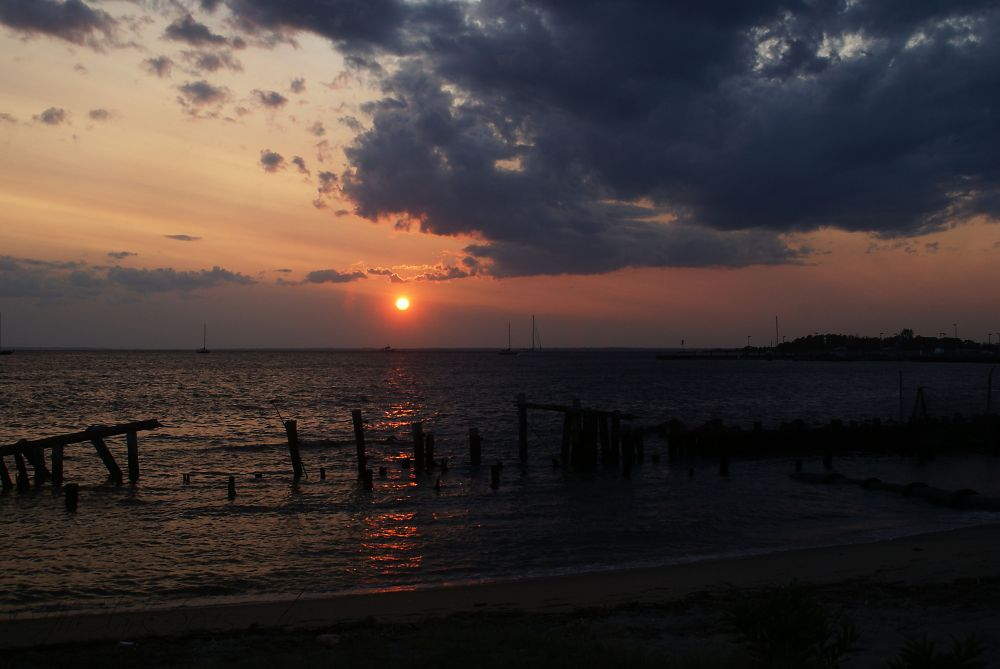 Sandy Hook Sunset 3/4