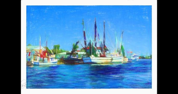 Painted shrimpers...