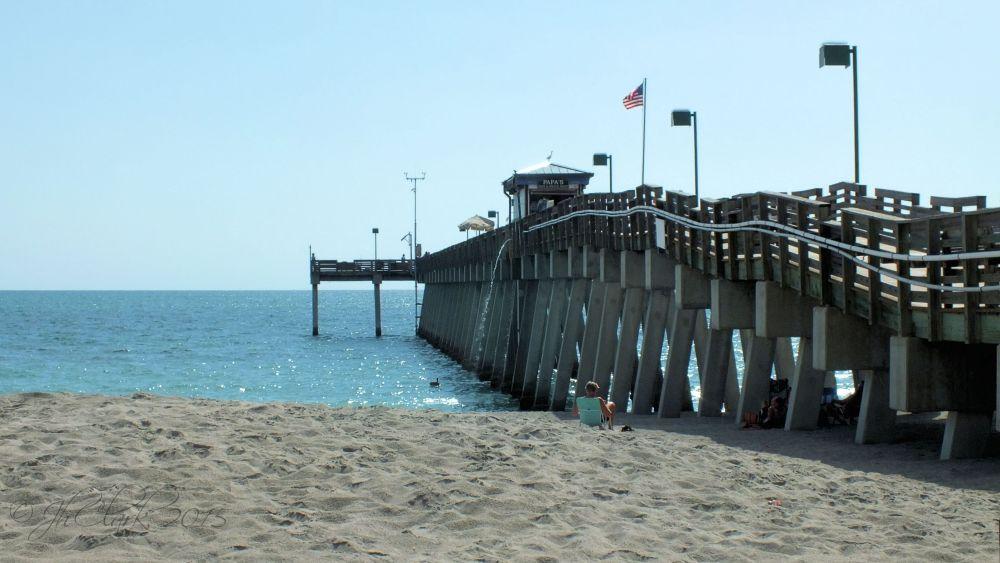 Venice fishing pier...