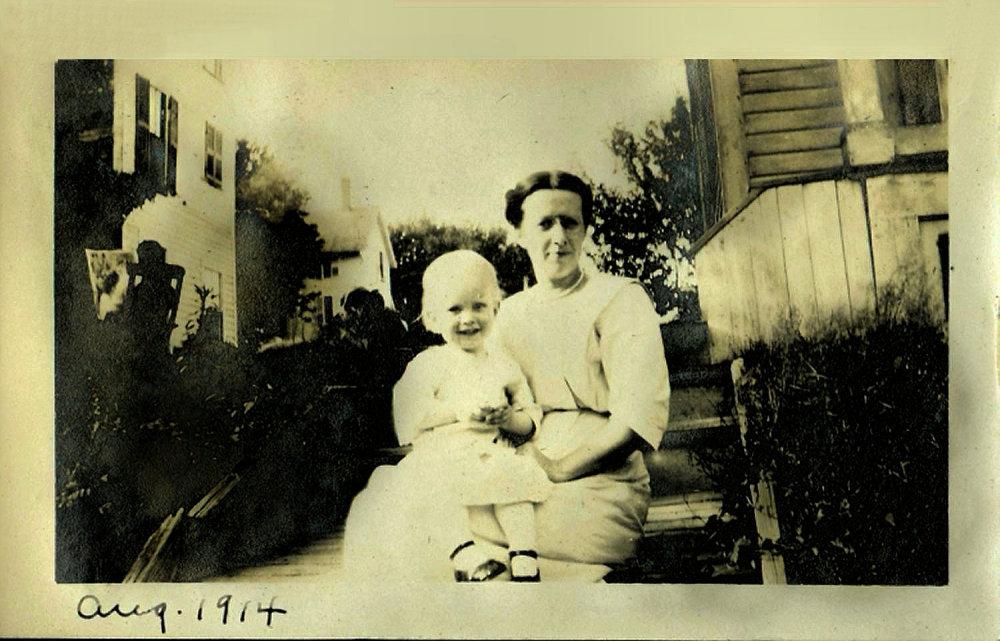Dad & Grammy, 1914...