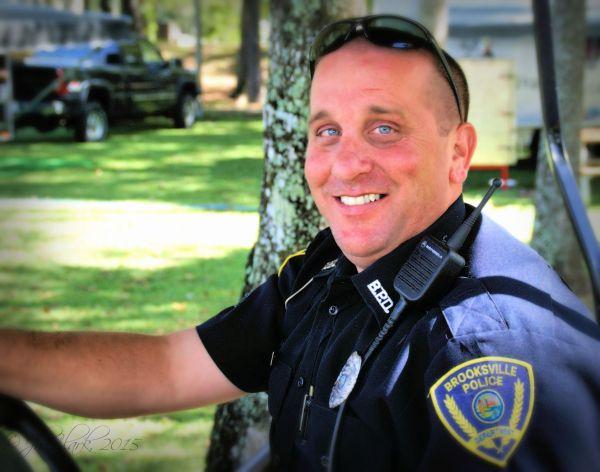 Officer 'Blue Eyes'...