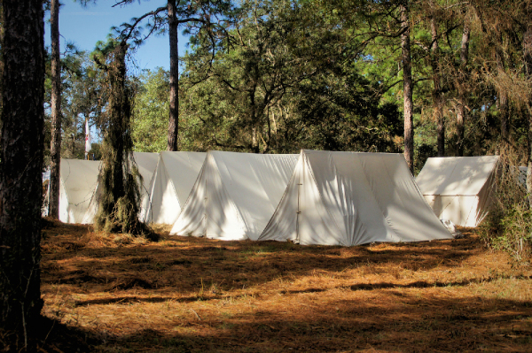 Union Camp setting...