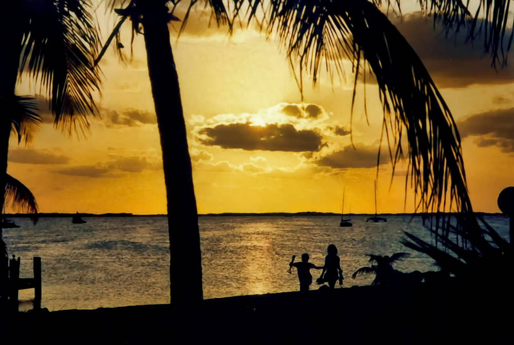Key Largo in 2001...