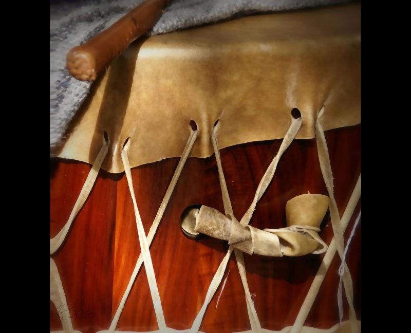 Tlingit drum...