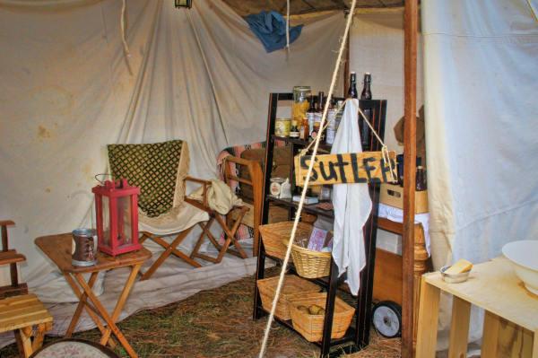 Sutler's Tent...