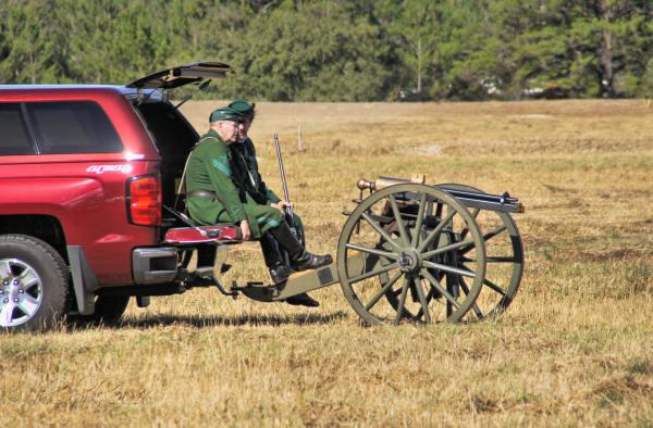 brooksville raid truck cannon 4534