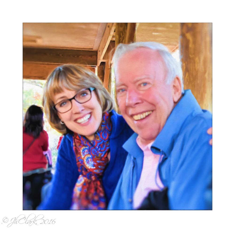 Susan & her dad...