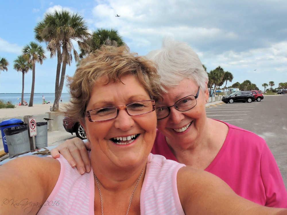 Kay's selfie of us...
