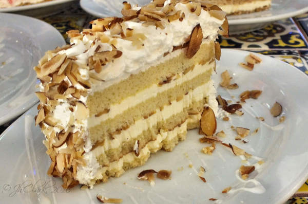 Almond Rum Cake...