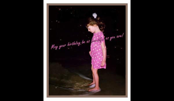 Happy Birthday, Bridget...