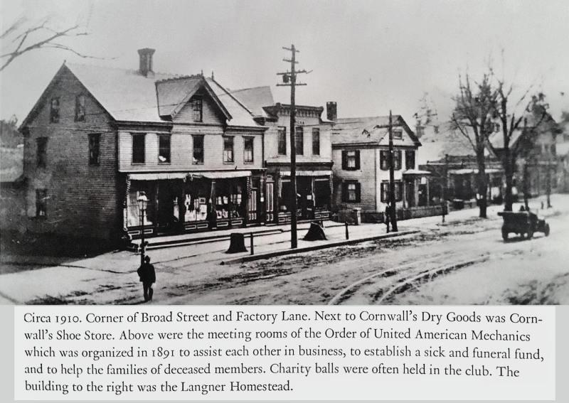 Broad St & Factory Lane...