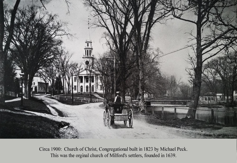 Vintage image of my church...