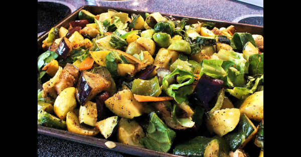 Roasted veggies...