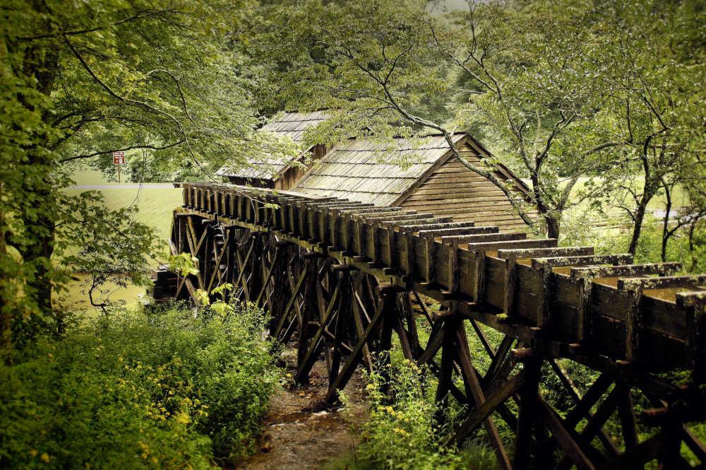 Mabry Mill, Milepost 176.1...