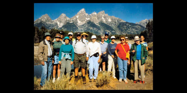 Grand Tetons walk...