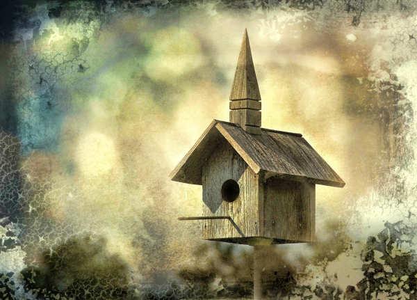 Church in the clouds...