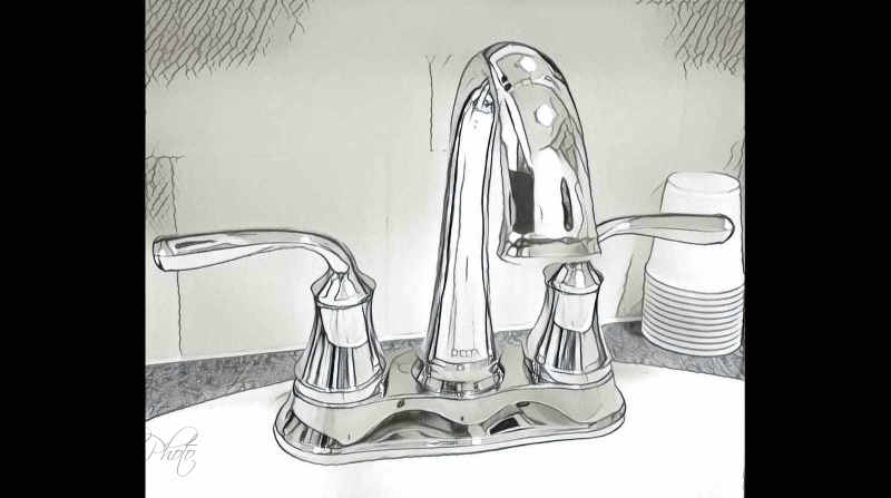 Silly faucet image...
