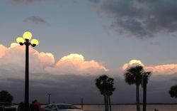 Pine Island afterglow...