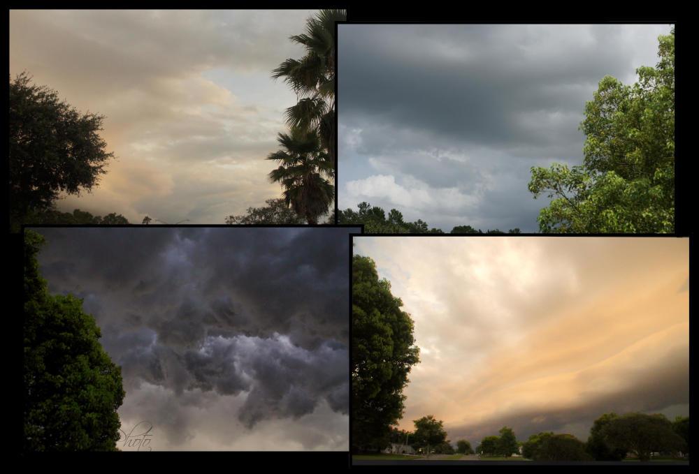 August skies...