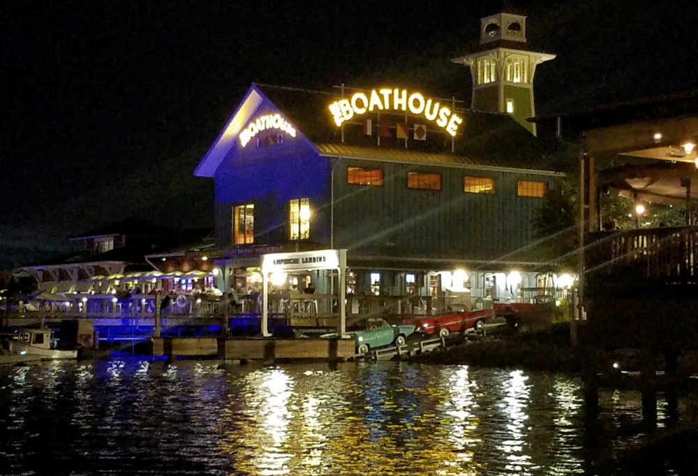 Boathouse for a meal?