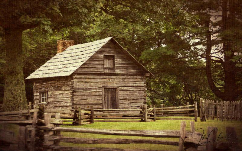 Puckdett Cabin, Blue Ridge Pkwy...