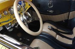 1930 Ford interior...