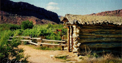 Homesteading cabin...