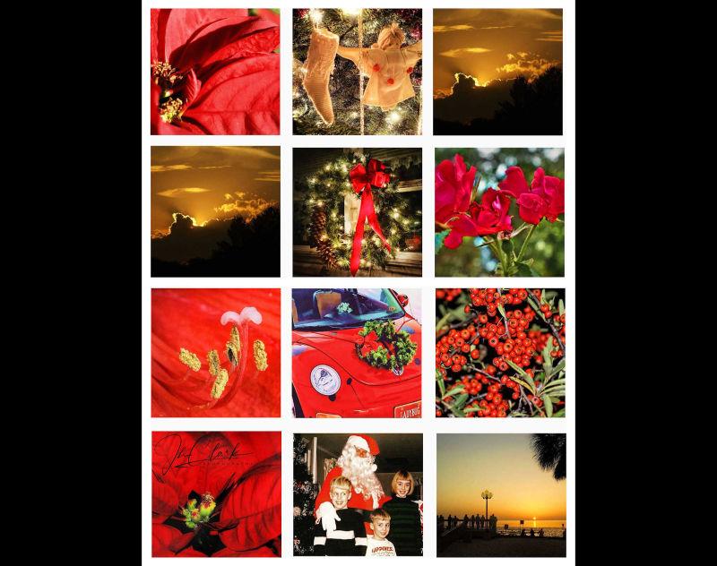 December collage...