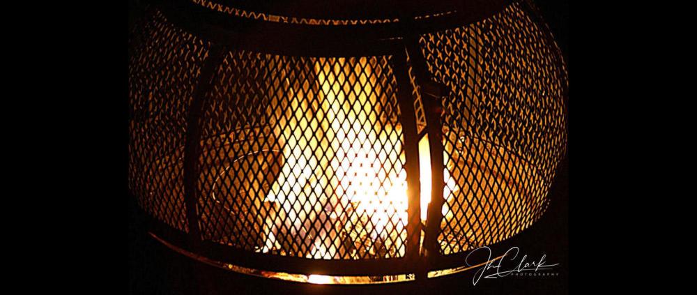 Sitting around the fire...