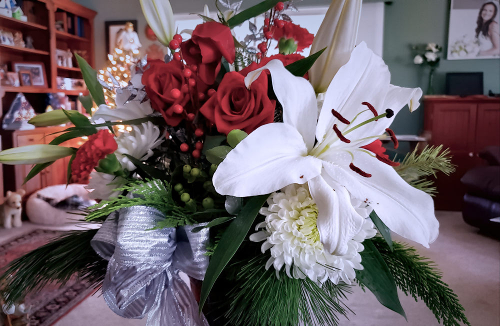 Christmas bouquet...