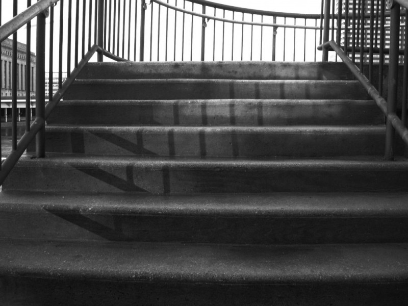 Stairway not quite to heaven