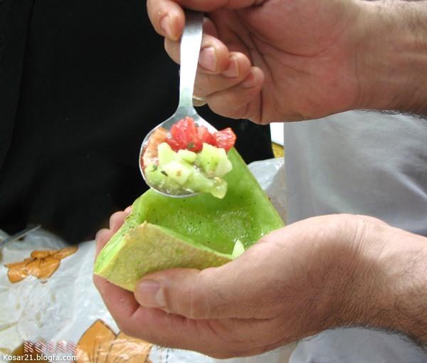 سالاد طالبي cantaloupe Salad
