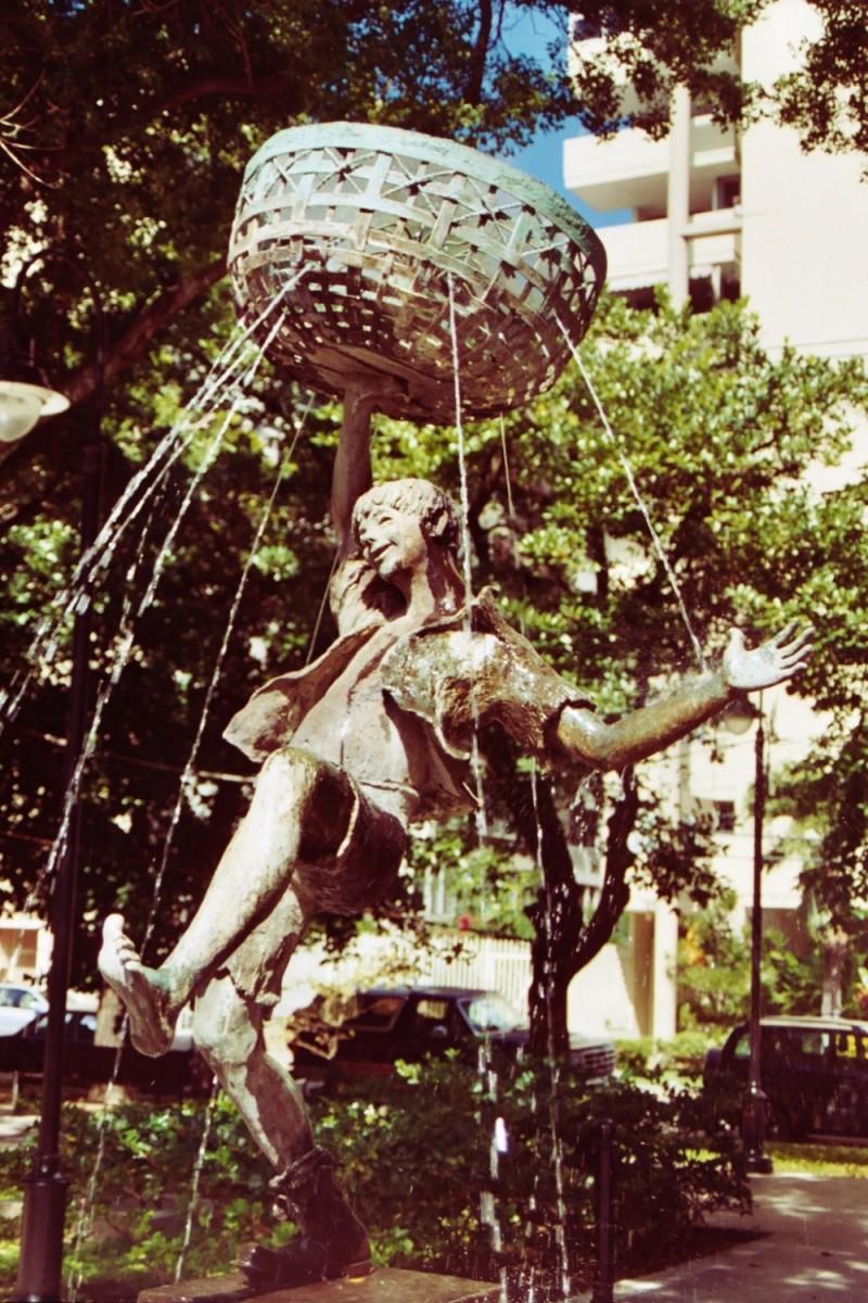 San Juan Statue