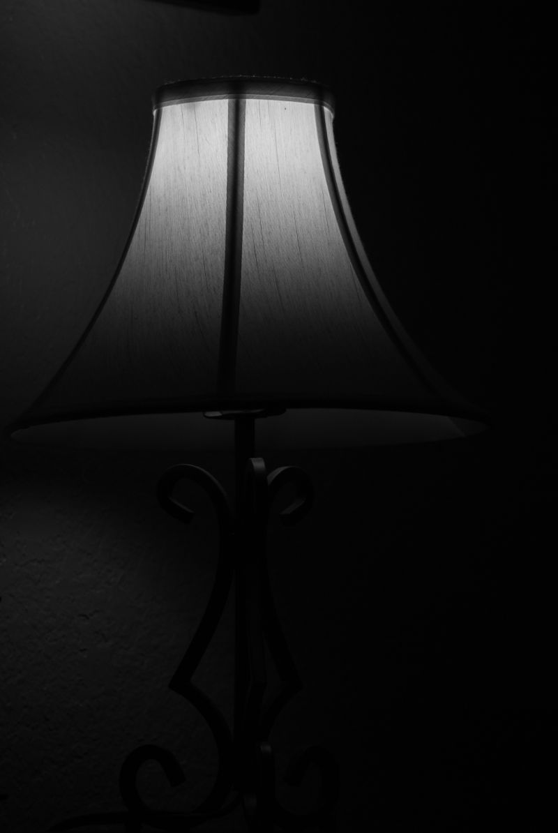 Lamp in Darkness