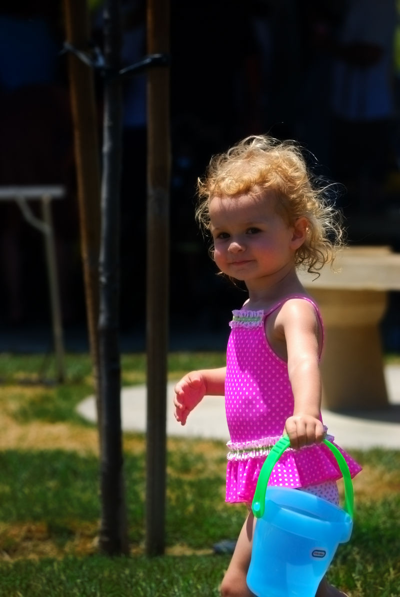 Layla Rae at the Water Park