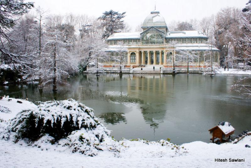 Palacio de Cristal Nieve 2