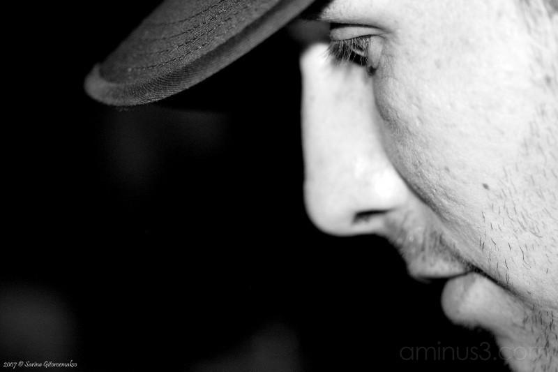 Alex in Black and White