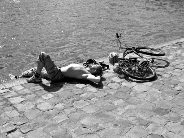 La mort lente du vélo, paris