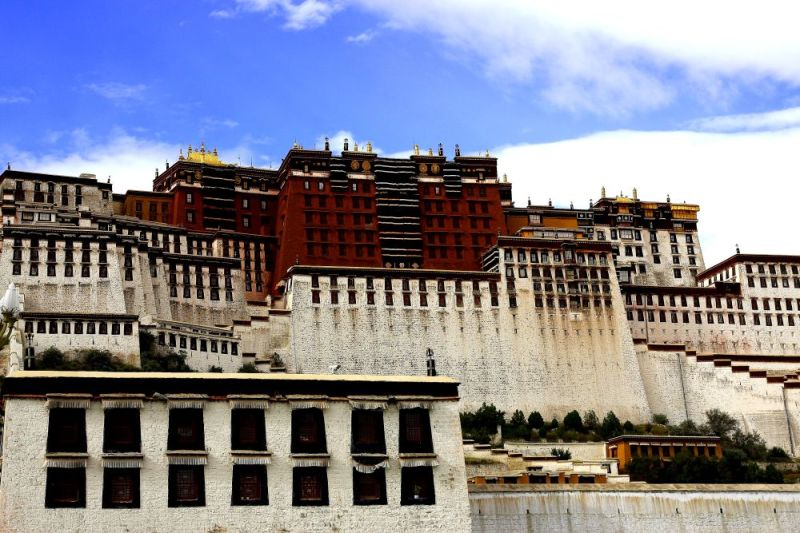 Potala Palace - the White and Red Palaces