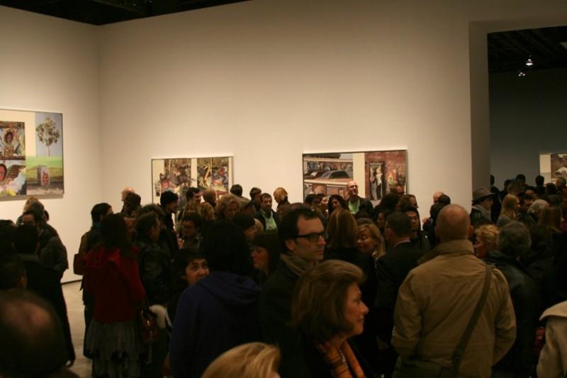 Rauschenberg Exhibit in Chelsea