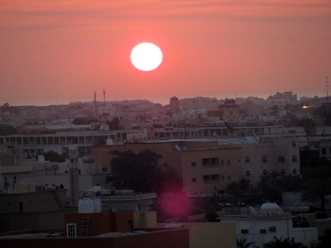Sunrise over Kuwait
