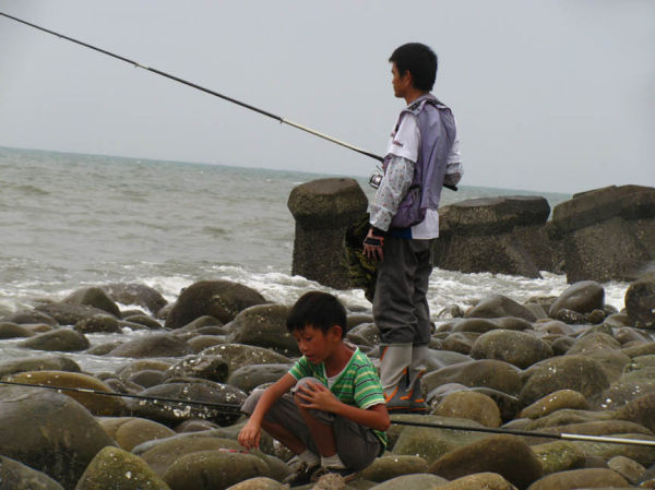Fishing on the South China Sea
