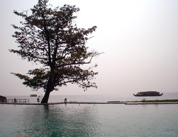 Kerala, pool&lake